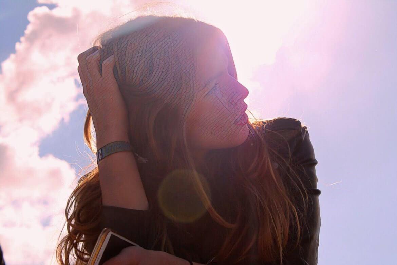 фото девушки перед специальным уходом над кожей