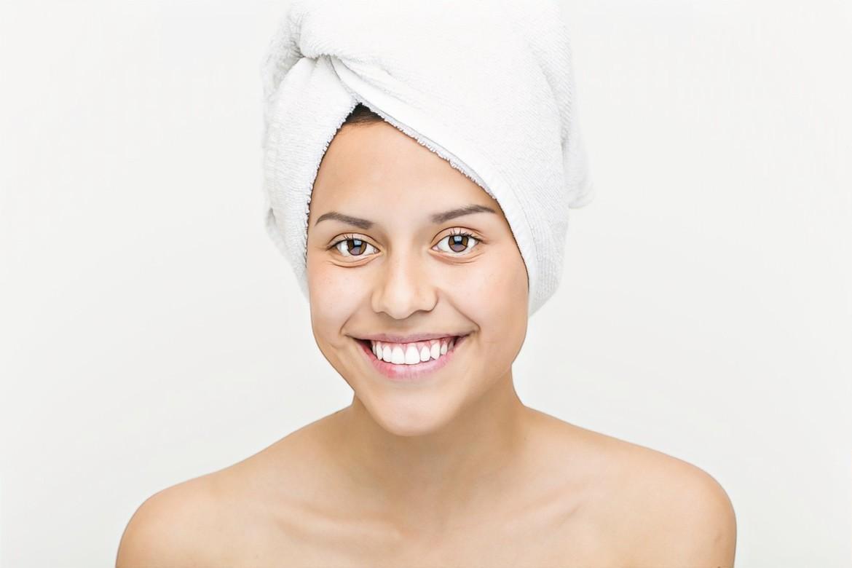 фото девушки после отказа от умывания при проблемной коже
