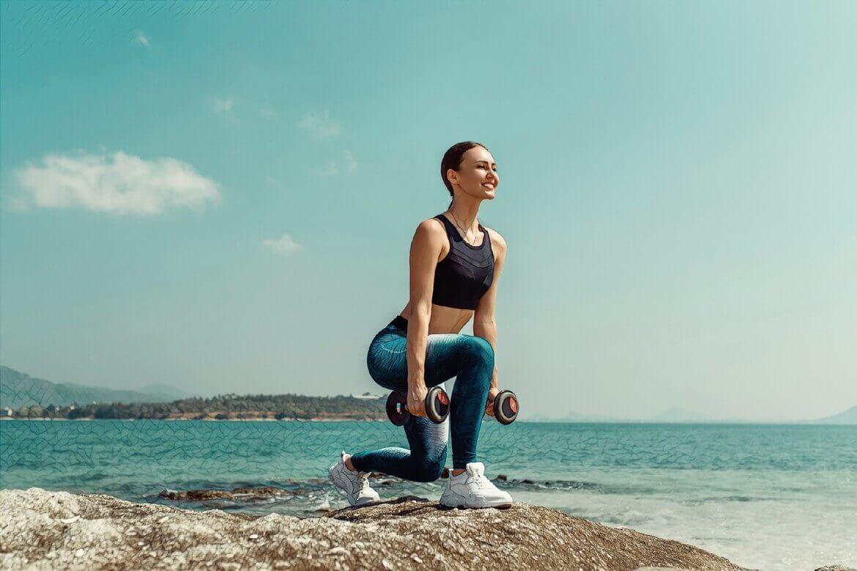 спорт для избавления от стресса, вызывающего акне