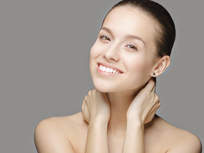 фото девушки после лечения проблемной кожи солью