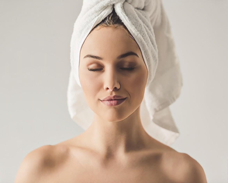фото девушки после лимфодренажного массажа при акне