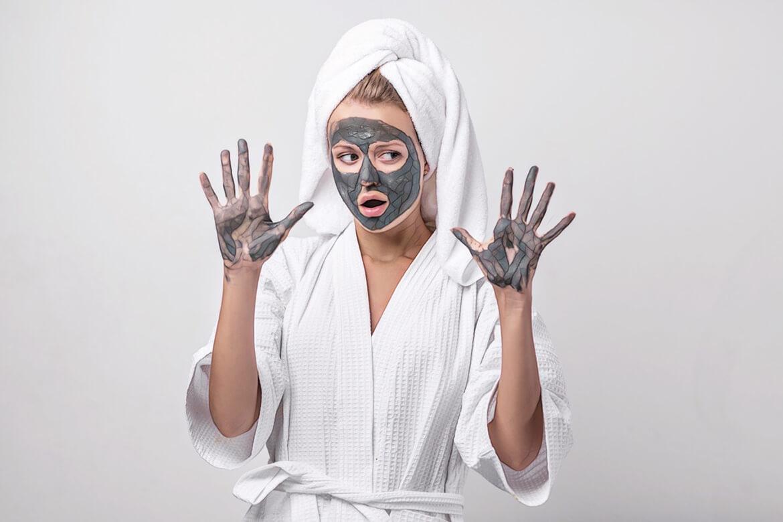 маска-глина по типу кожи от акне
