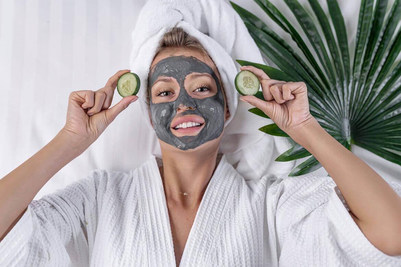 очищающая домашняя маска
