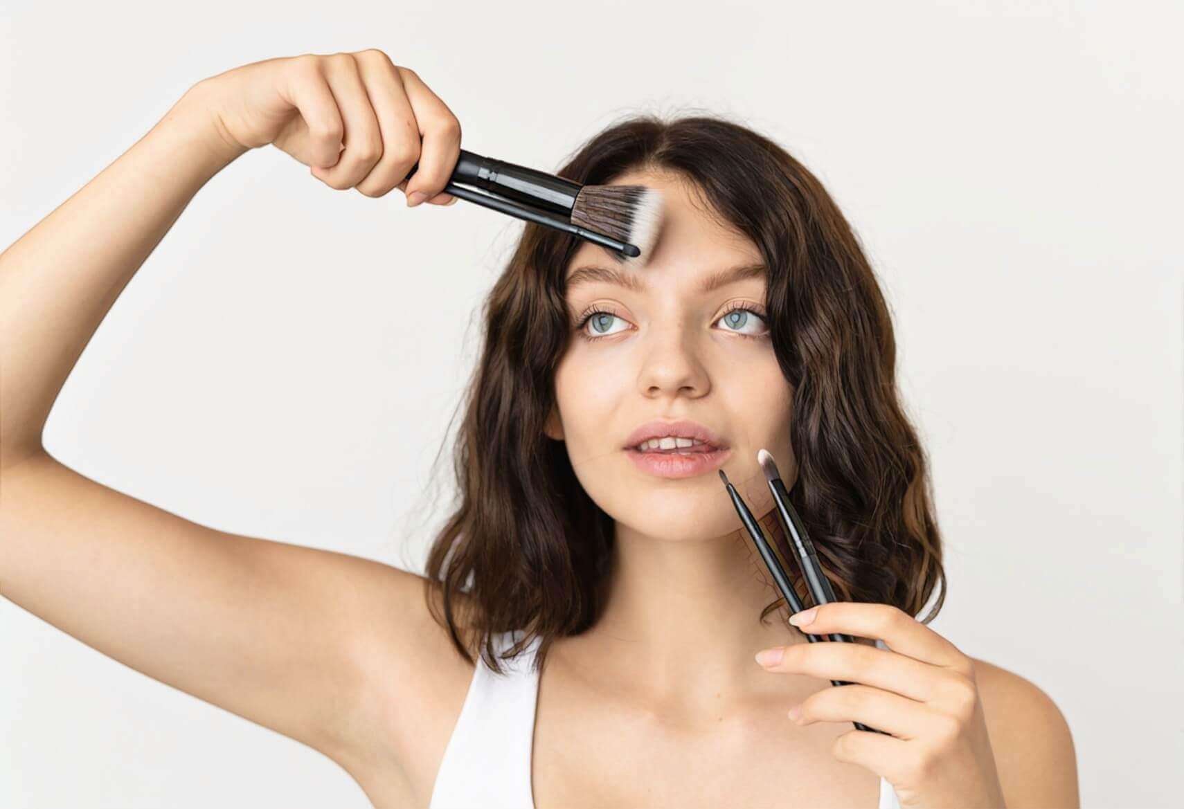 Эффективно ли чистить лицо при наличии прыщей*?